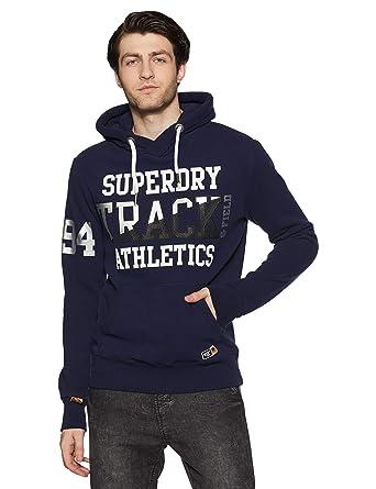 Superdry Super Track Metallic Hood, Sudadera para Hombre: Amazon.es: Ropa y accesorios