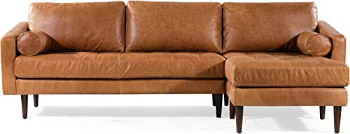 POLY BARK Napa Right-Facing Sectional Sofa