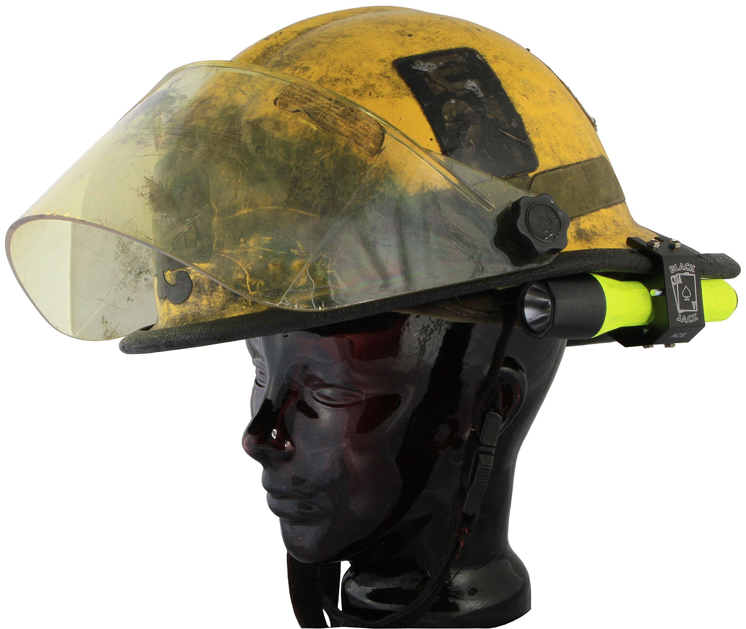Blackjack ACE Firefighter Helmet Aluminum Flashlight Holder by Blackjack Fire & Safety (Image #8)