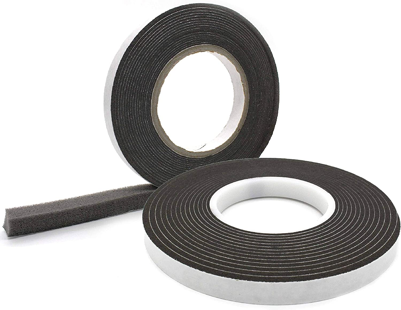 8-40 mm │ Fugendichtband │ Quellband 40 mm Komprimierband 40//8 │ anthrazit │ 1 St/ück │ 4,3 m lang │ Rollenbreite Fugenbreite