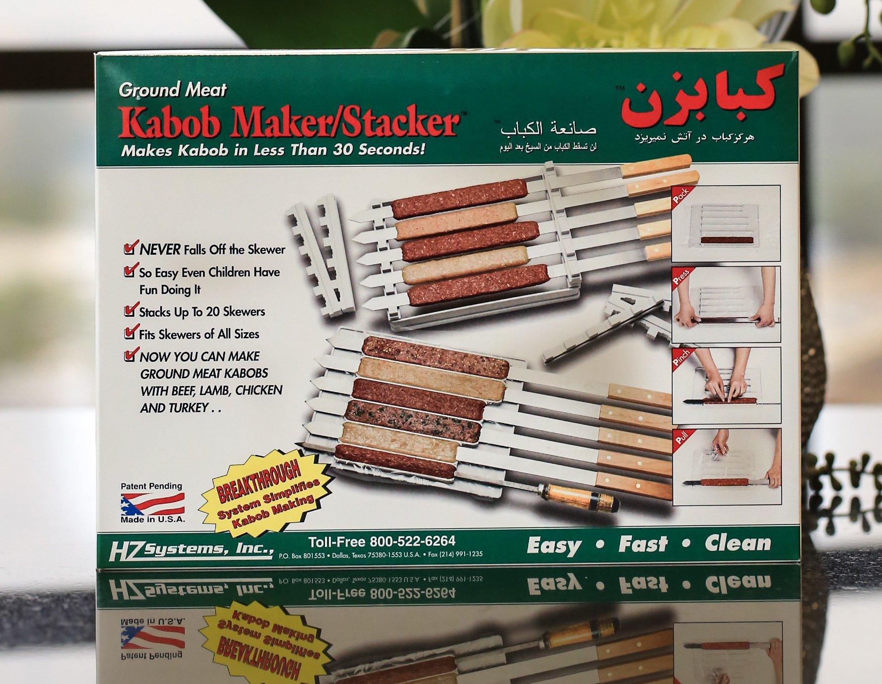 Kabob Maker and Stacker by Kabob Maker