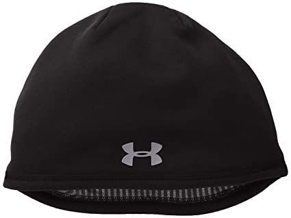 4257e243af0 ... free shipping under armour mens storm coldgear infrared elements 2.0  beanie black graphite one size 43ff0