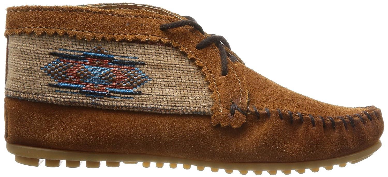 Minnetonka Damen EL Paso Ankle Desert Stiefel Stiefel Stiefel braun d02012