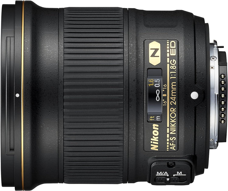Nikon, Lente para cámara de fotos, 24 mm 1:1.8G ED: Amazon.es ...