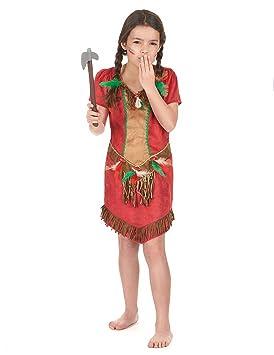 Roja esJuguetes Niña Disfraz A India Y De AñosAmazon Juegos 14 12 4j5RLA