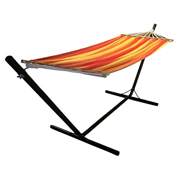 Hamaca terraza tumbona colgante xxcm muebles jardin playa for Tumbona colgante