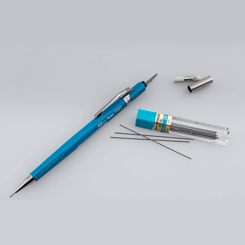 Pentel Sharp Mechanical Pencil 0.7mm P207C Blue Barrel 1 PENCIL