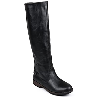 Amazon.com | Journee Collection Womens Stretch Knee-High Wide-Calf ...