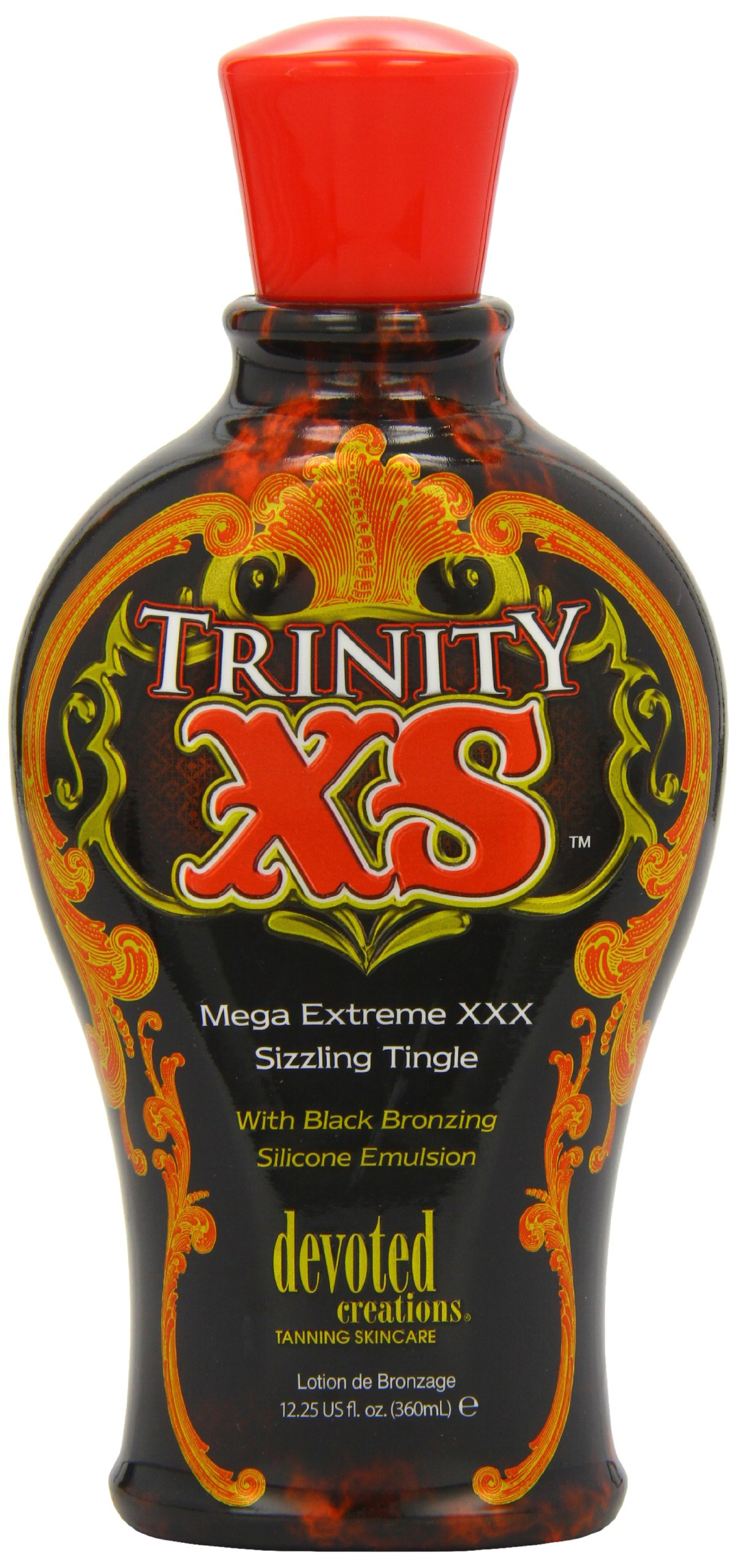 Devoted Creations Trinity XS Mega Extreme XXX Sizzling Tingle Tanning Lotion 12.25 oz. by Devoted Creations