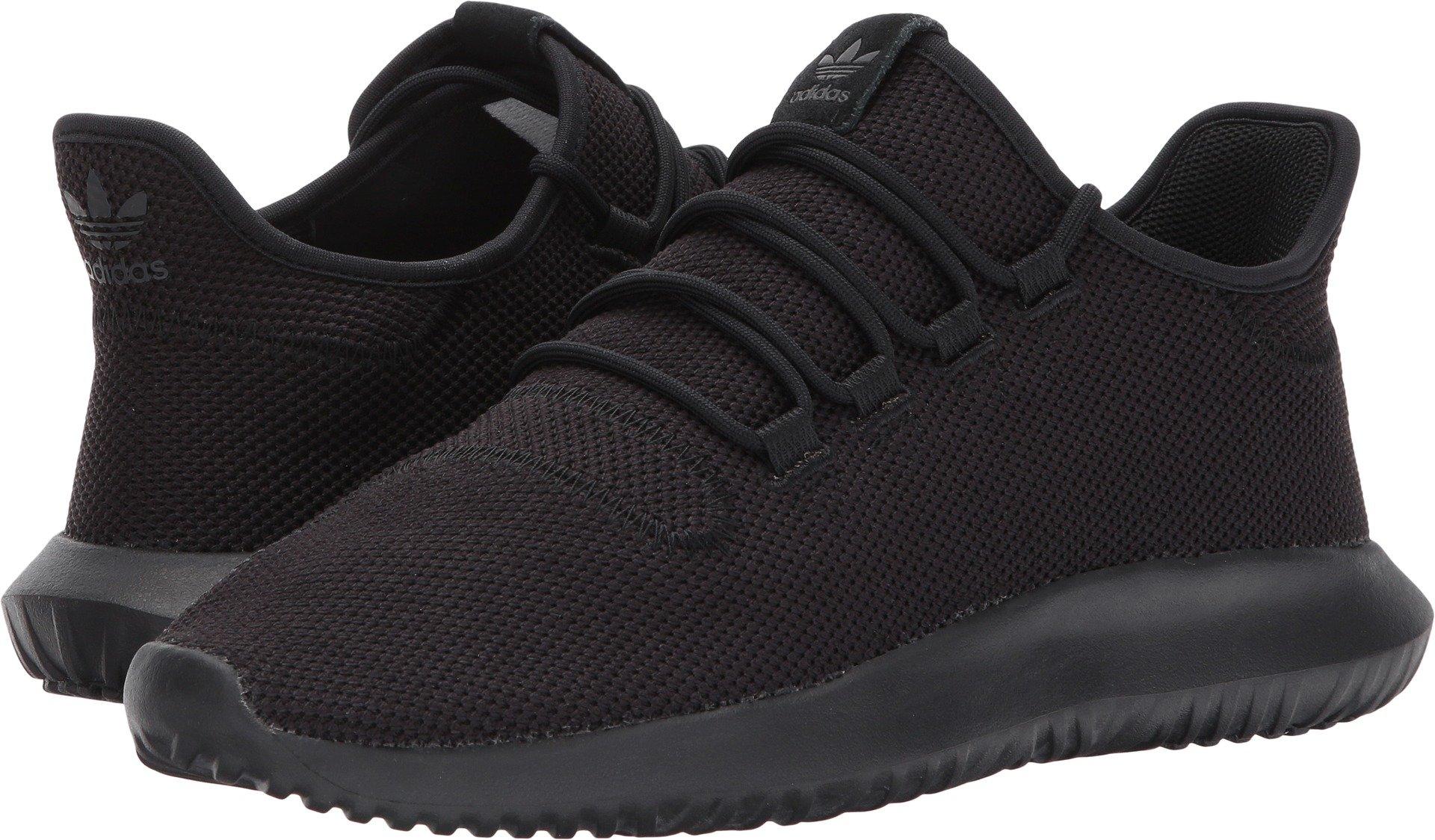 adidas Originals Men's Tubular Shadow Sneaker Running Shoe, White/Black, 9.5 D(M) US