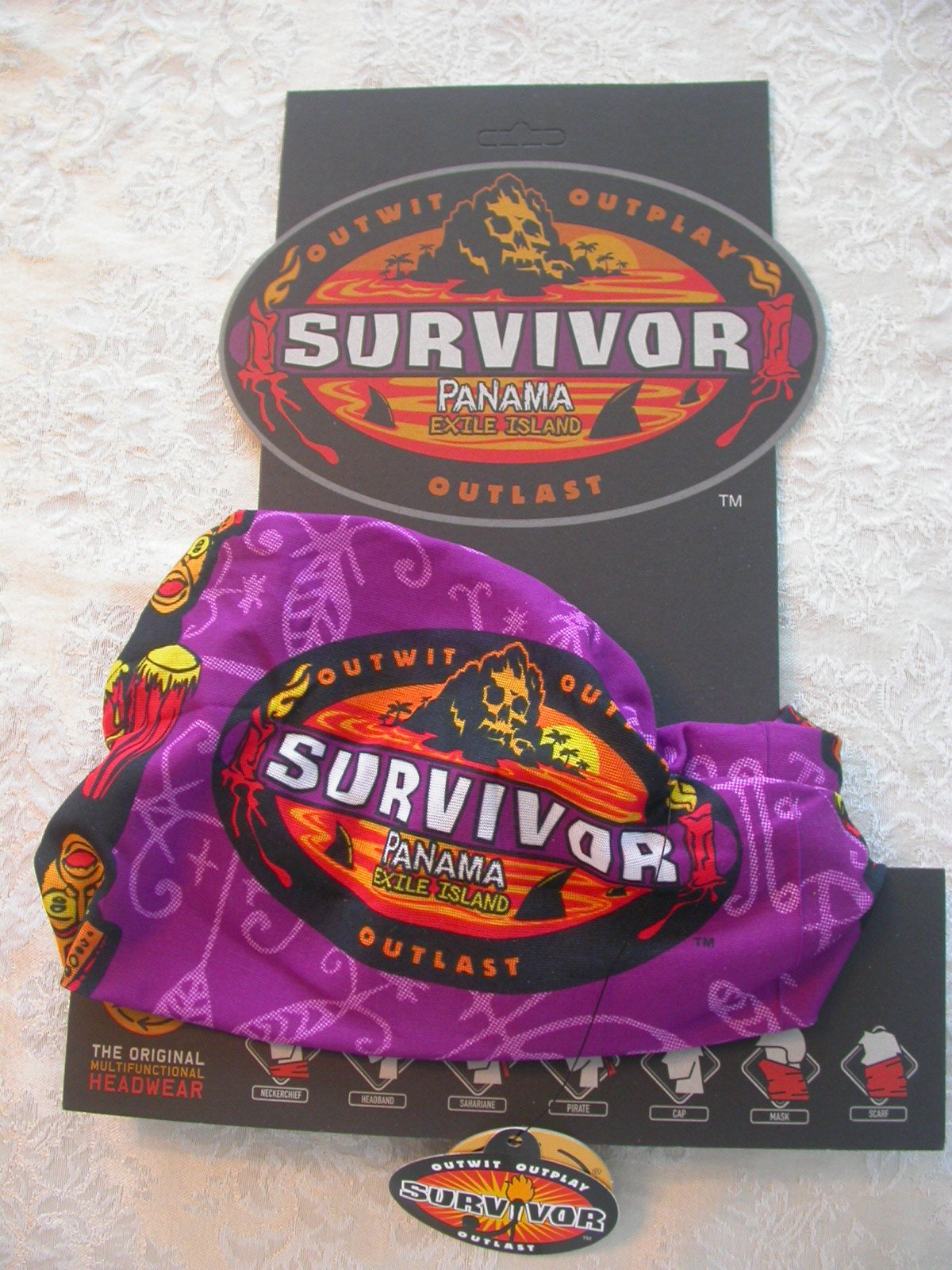 Survivor Buff -PURPLE Panama Exile Island Season Buff