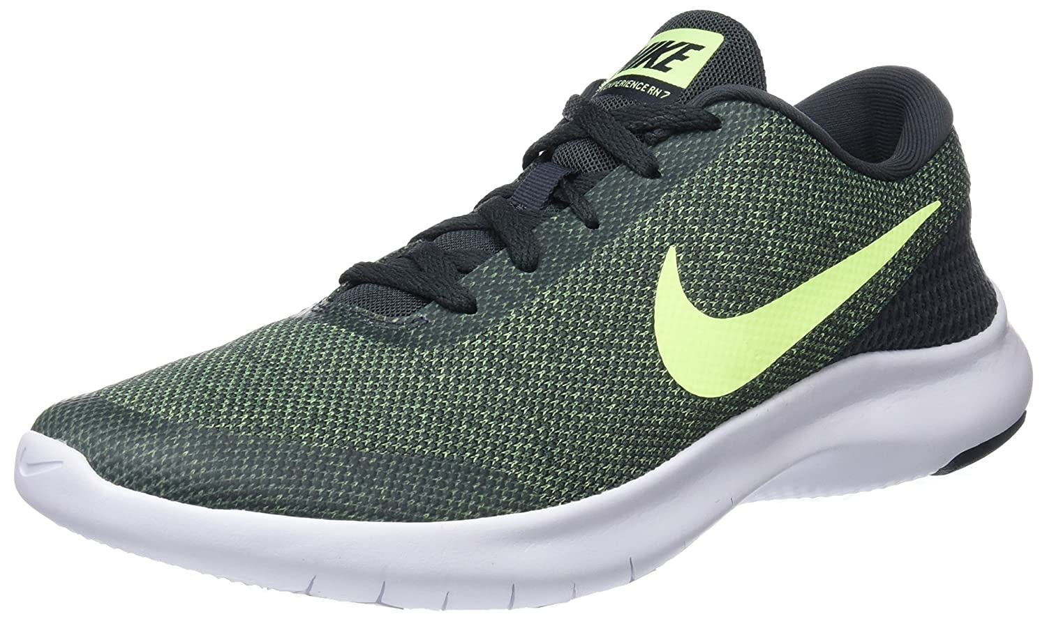 NIKE Men's Flex Experience 7 Running Shoe B0719CW5BJ 10 D(M) US|Anthracite/Volt Glow-white