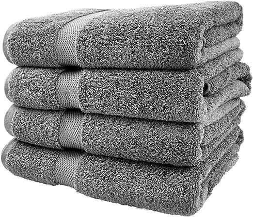 1 Black Towel Extra Large 100/% Cotton Soft Luxury Bath Use FREE SHIPPING