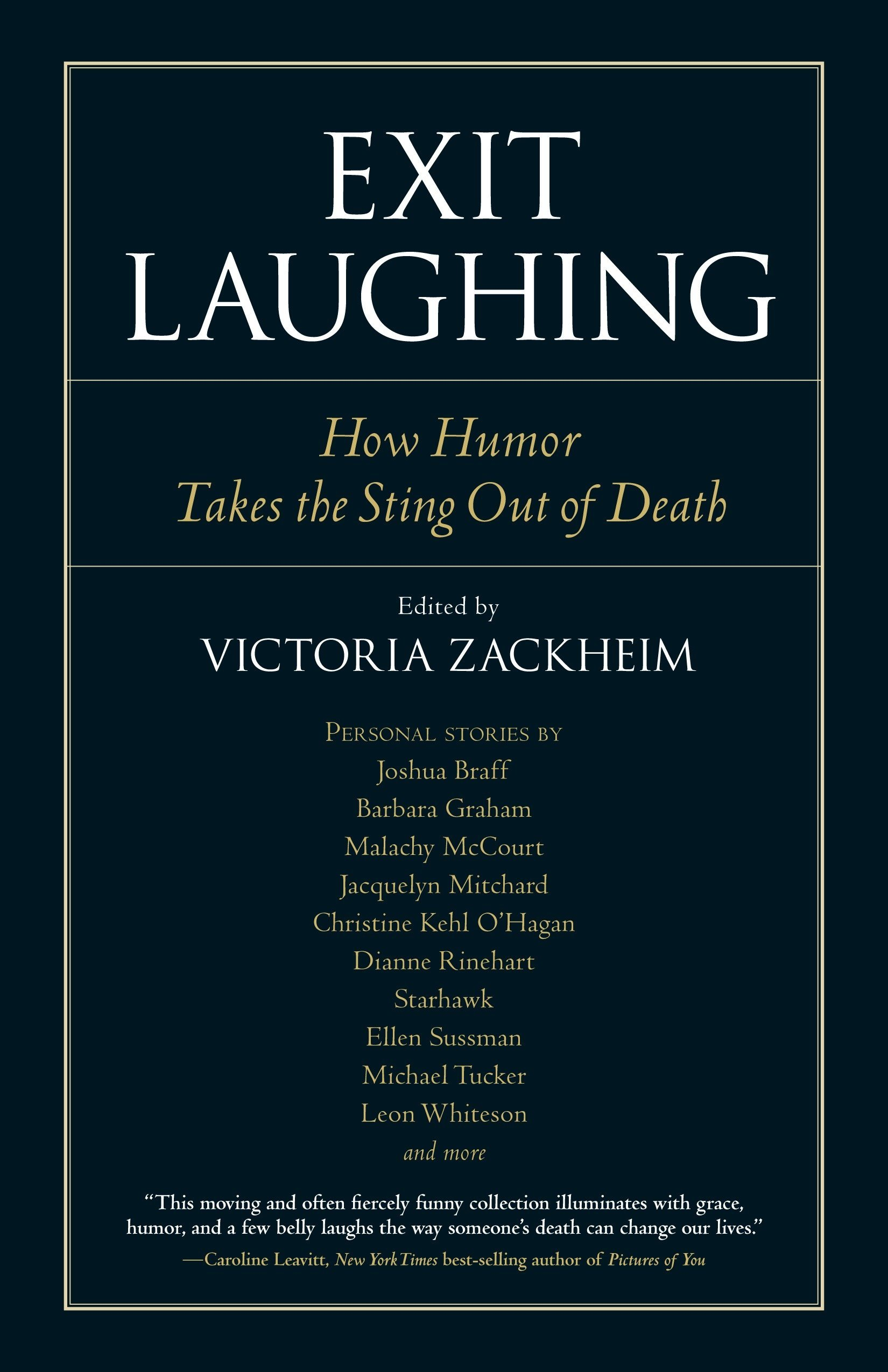 Download Exit Laughing: How Humor Takes the Sting Out of Death (Io Series) pdf epub