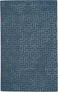 product image for Capel Atrium-Mystic Blue 8' x 10' Rectangle Hand Loomed Area Rug