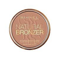 Rimmel - Natural Bronzer -Terra Abbronzante Waterproof a Lunga Durata SPF 15 - 022 Sun Bronze - 14 g
