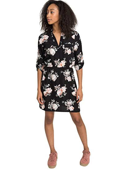 1b884d60f0 Ardene Women's - A-Line Floral Dress at Amazon Women's Clothing store: