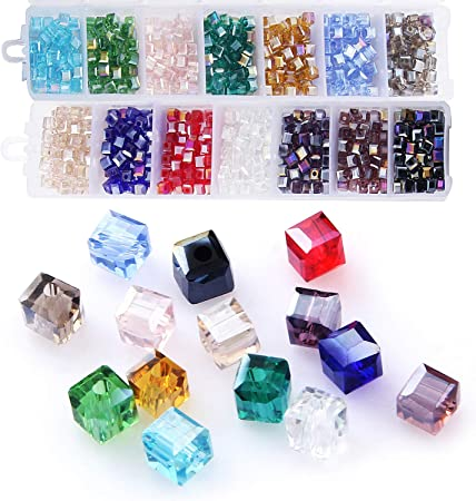 Faceted Crystal Beads Lot