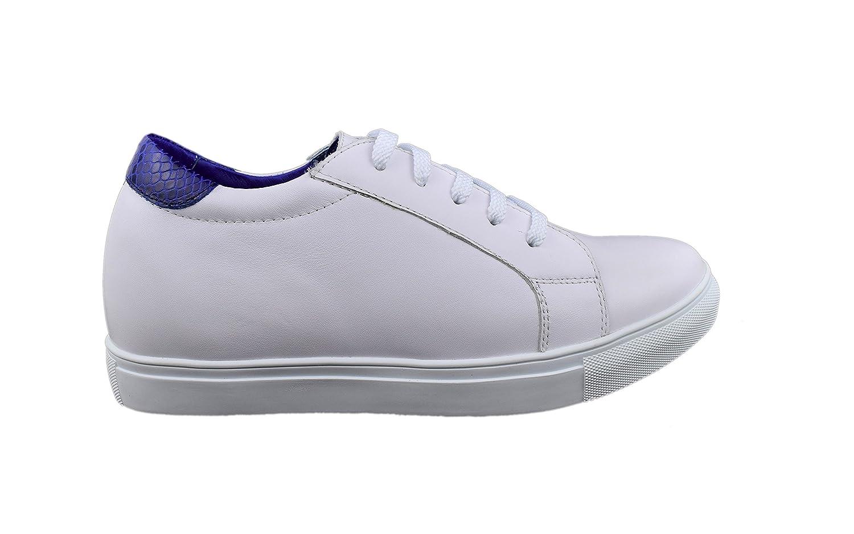 Zerimar Herren Sportschuhe mit undsichtbarer erhöhundg 6 cm cm cm Schuh aus hochwertigem Leder B0797V1ZWK bfde6b