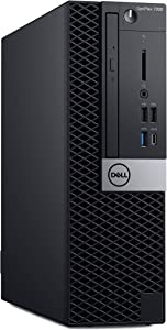 Dell OP7060SFFT7G0K OptiPlex 7060 SFF Desktop Computer with Intel Core i7-8700 3.2 GHz Hexa-core, 16GB RAM, 256GB SSD