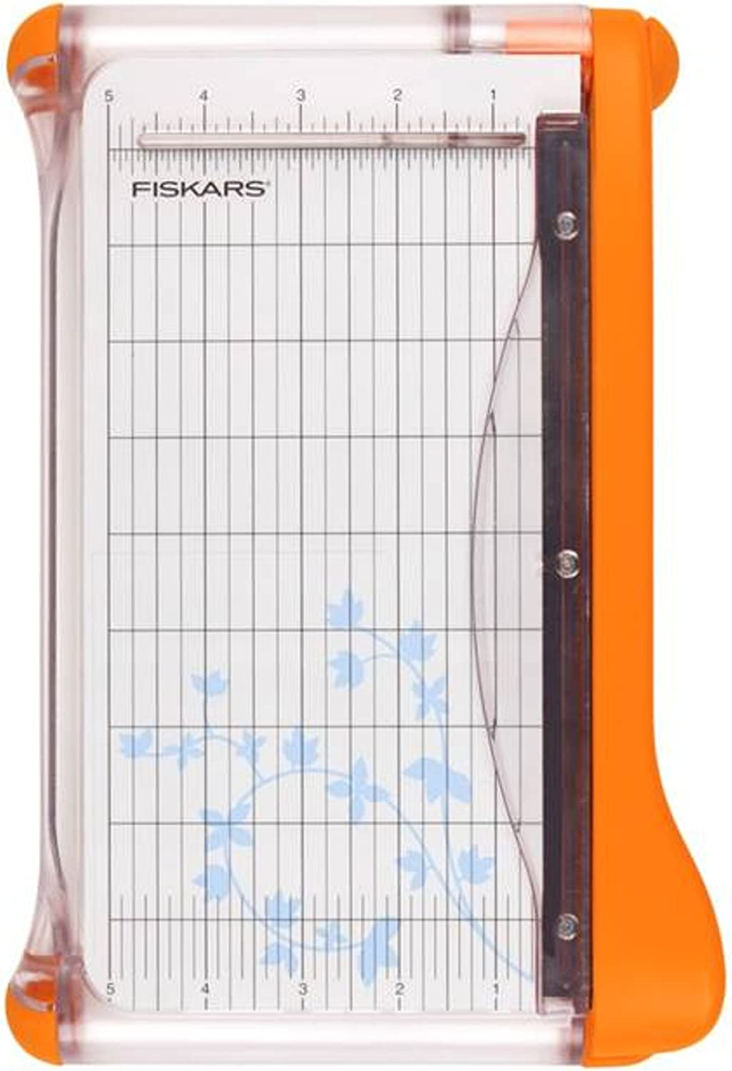 Fiskars 9 Inch Bypass Paper Trimmer (199130-1001), White : Rotary Paper Trimmers : Arts, Crafts & Sewing