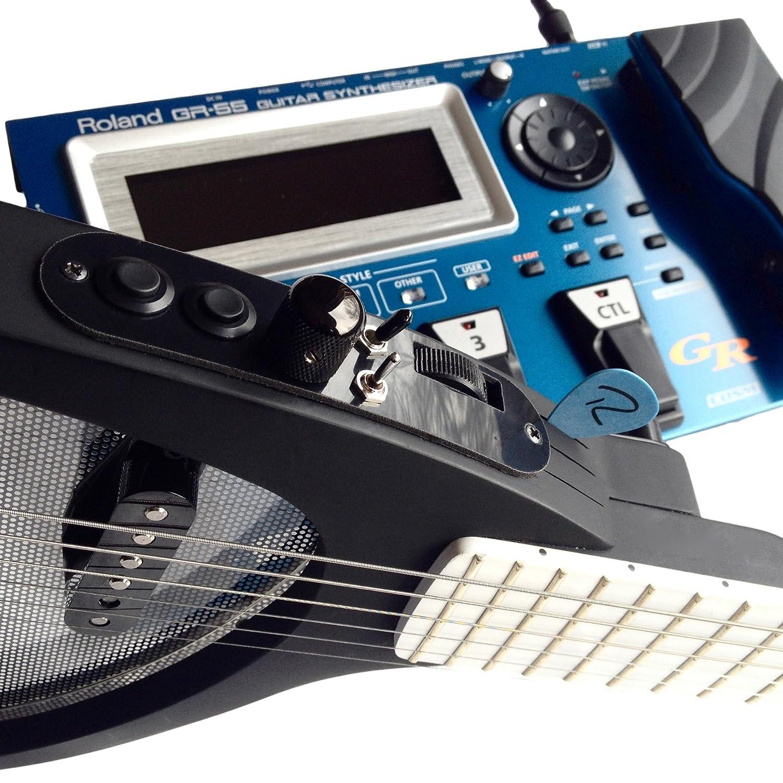 Midi Guitarra by Rob OReilly Guitars - Guitarra eléctrica con Roland GK-3 Midi - Pastilla Diseño Impresionante - Ideal para grabación y Live - Guitarra ...