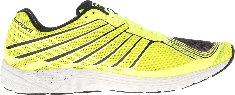 Brooks Herren Asteria Turnschuhe Laufschuhe Sneaker Schwarz Gelb Sport