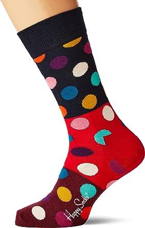 Happy Socks Big Dot Block Sock Calcetines para Hombre: Amazon.es: Ropa y accesorios