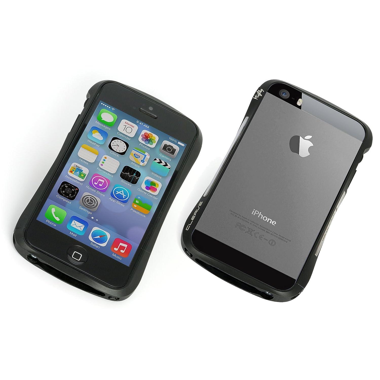 super popular 648a2 be358 Amazon.com: Deff CLEAVE ALUMINUM iPhone 5s/5 BUMPER Mighty (Dark ...