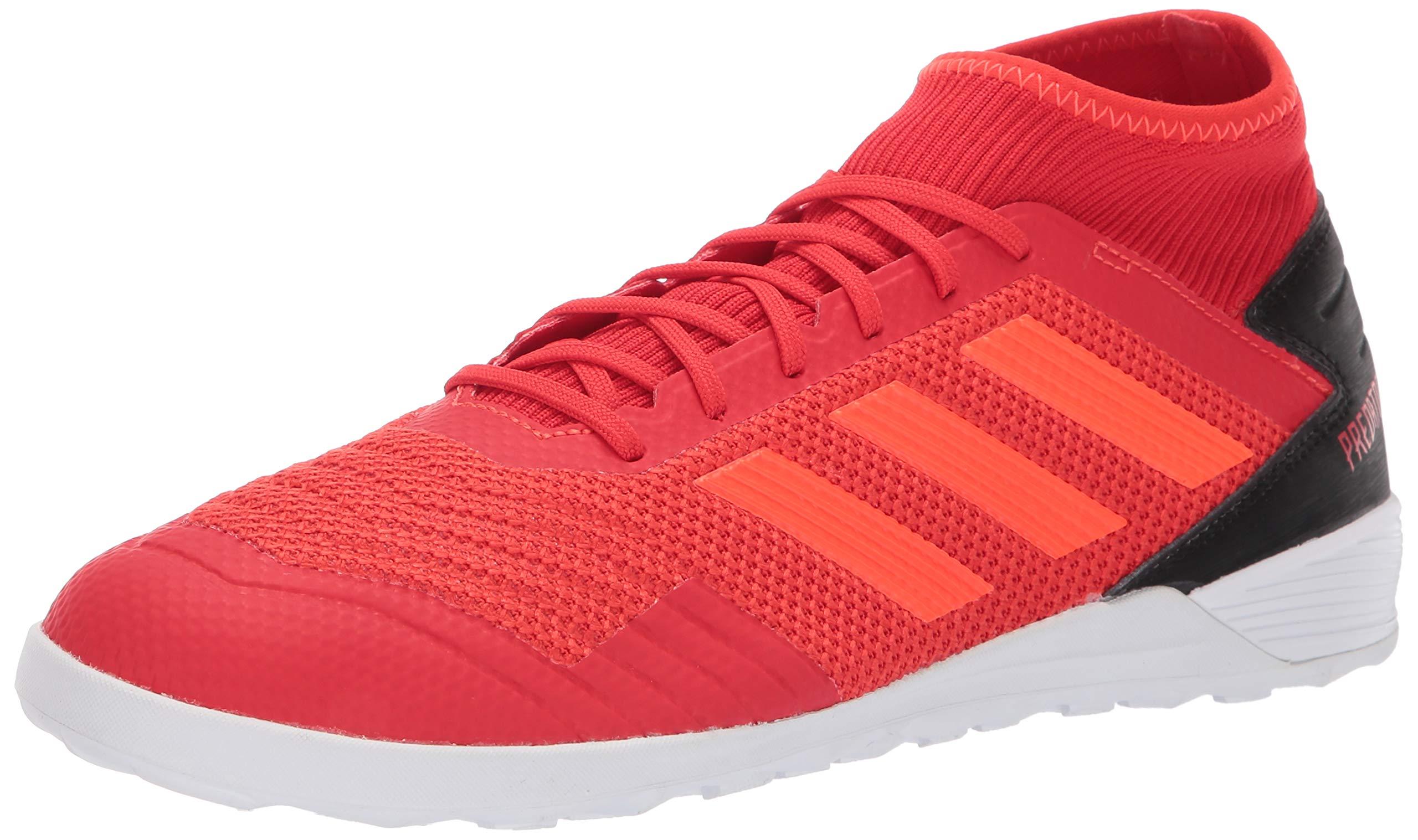 adidas Men's Predator 19.3 Indoor, Active Solar red/Black, 7 M US
