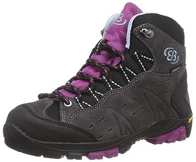 Bruetting Damen Mount Bona High Kids Trekking-& Wanderstiefel, Blau (Marine/Pink), 37 EU