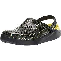 Crocs Unisex Adults' Literide Hyper Bold Clog U Water Shoe, Black/Black