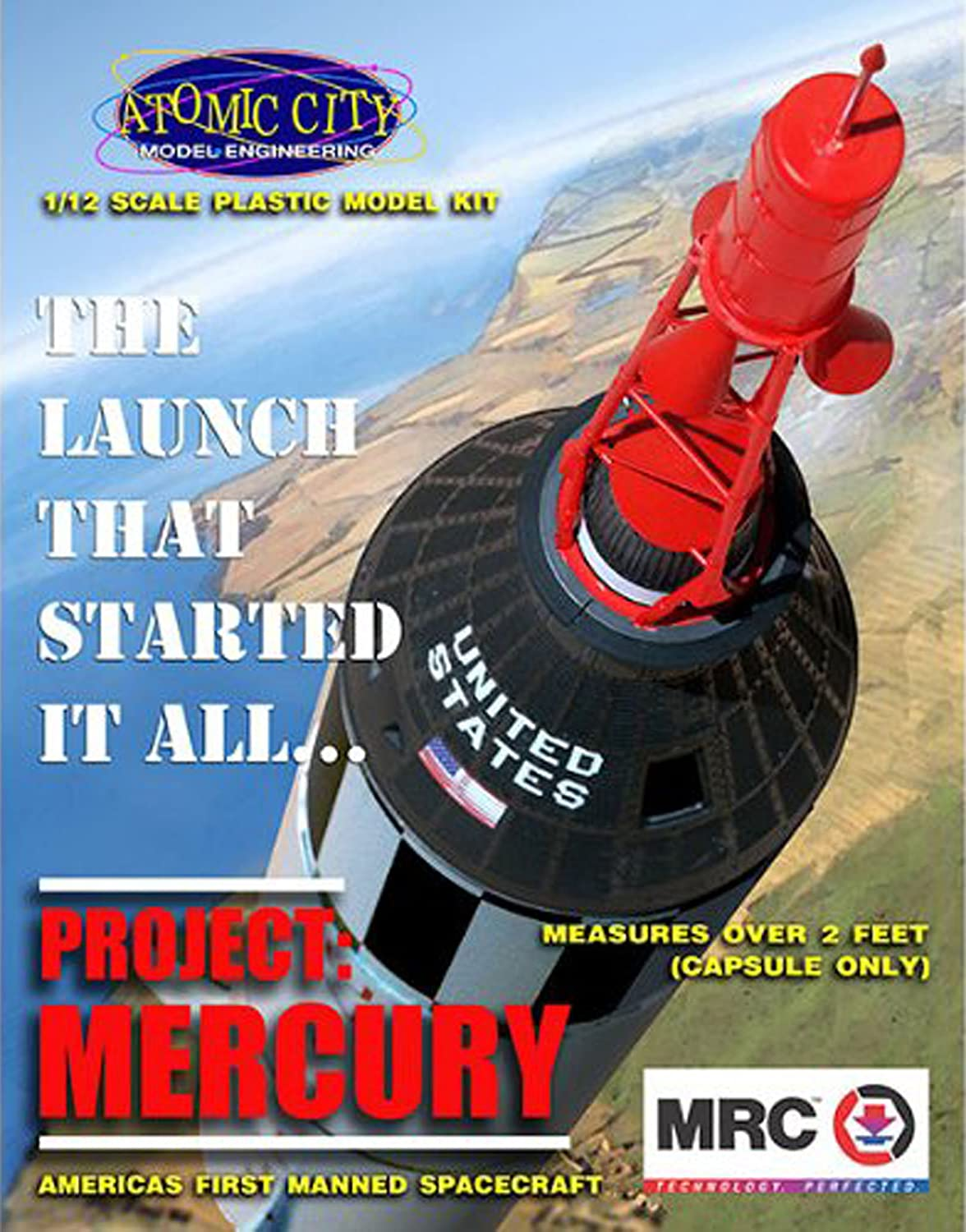 Model Rectifier Corporation Project: Mercury Spacecraft Model Building Kit Model Rectifier Corp. 0062001