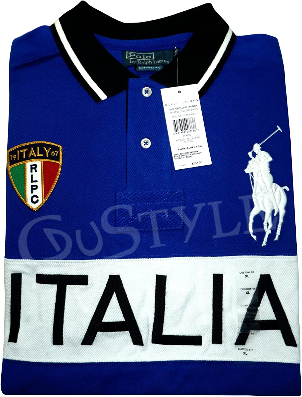 Ralph Lauren Polo Big Pony Italia Italia M Azul: Amazon.es: Ropa y ...