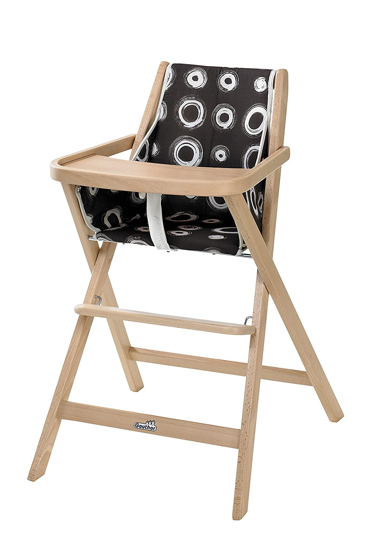 Kinderhochstuhl Ikea geuther klapp hochstuhl traveller natur kreise amazon de baby