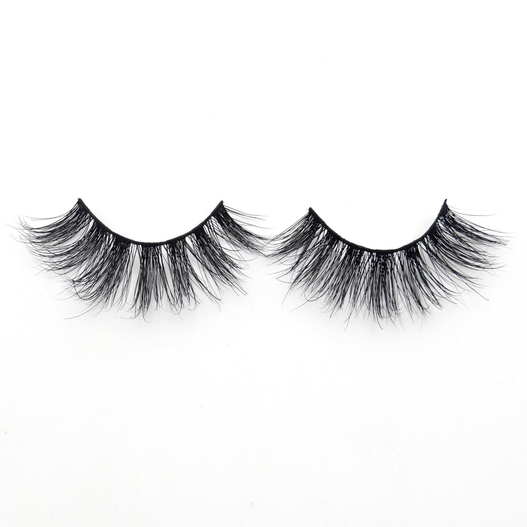 32e16d35b21 Amazon.com : Visofree Eyelashes Luxury 3D Mink Lashes Cruelty Free False  Eyelashes/Upper Lashes : Beauty