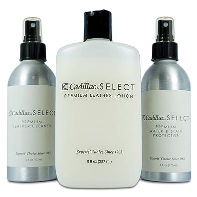 Amazon.com  Cadillac Select Premium Leather Care Kit - Leather ... 0dc586c4e16e7