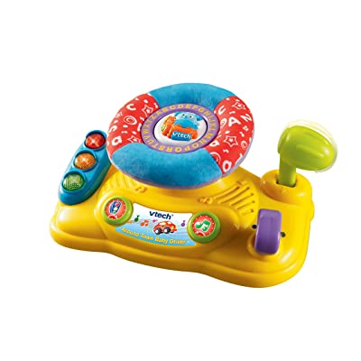 VTech Baby Around Town Baby Driver: Toys & Games