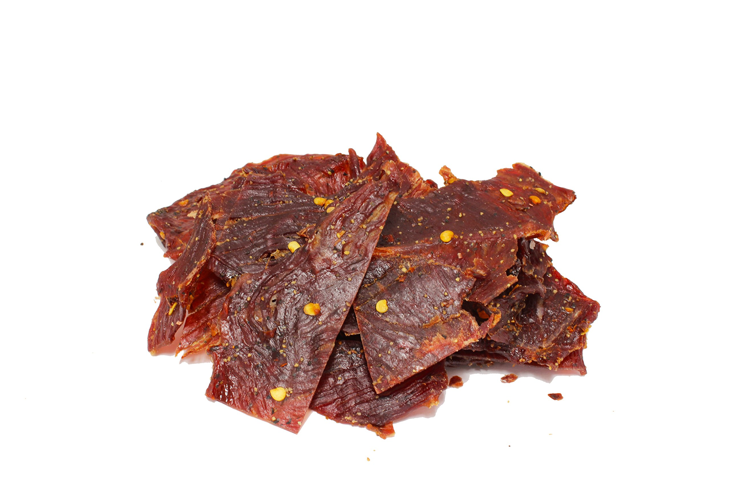 People's Choice Beef Jerky - Classic - Hot & Spicy - High Protein Meat Snack - 3 Ounce Bag by People's Choice Beef Jerky (Image #2)