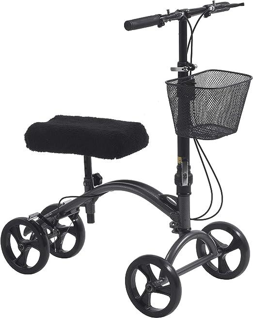 Amazon.com: Drive Medical DV8 Caminador de rodilla dirigible ...