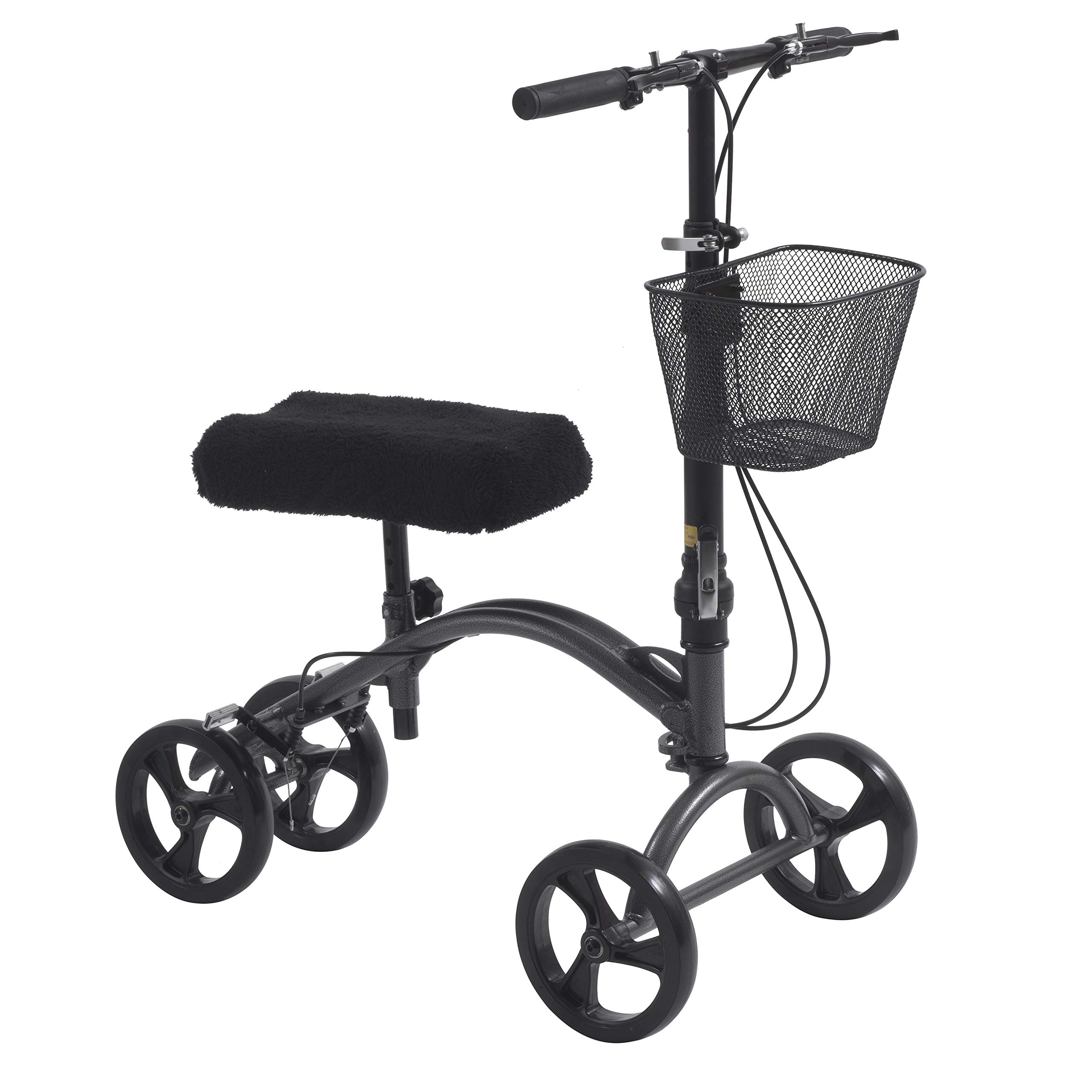 Drive Medical DV8 Aluminum Steerable Knee Walker Crutch Alternative by Drive Medical