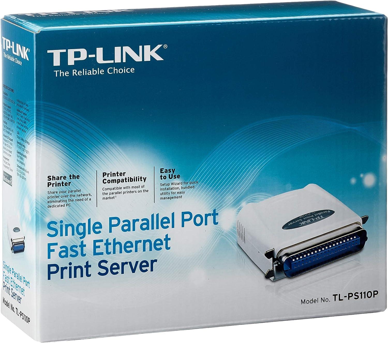Tp Link Tl Ps 110p Network Ethernet Print Server Computers Accessories