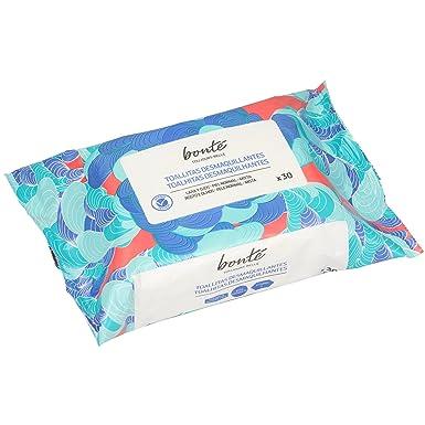 BONTE toallitas desmaquillantes piel normal/mixta envase 30 uds