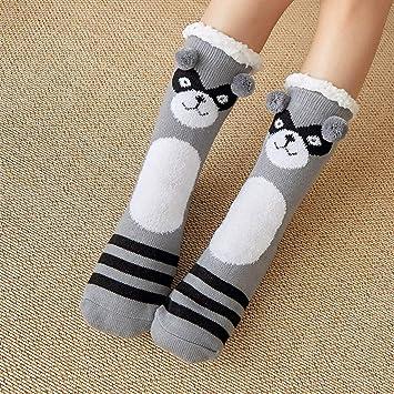 8c0e1717e6f Slipper Socks 3D Cute Animal Knitted Warm Slippers Super Soft Winter ...