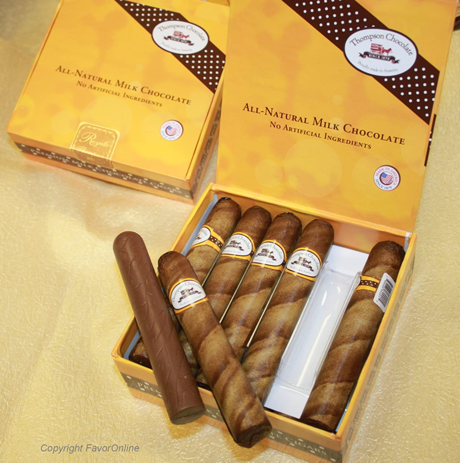 Amazon.com : Royale Chocolate Cigars in Cigar Box pack of 12 ...