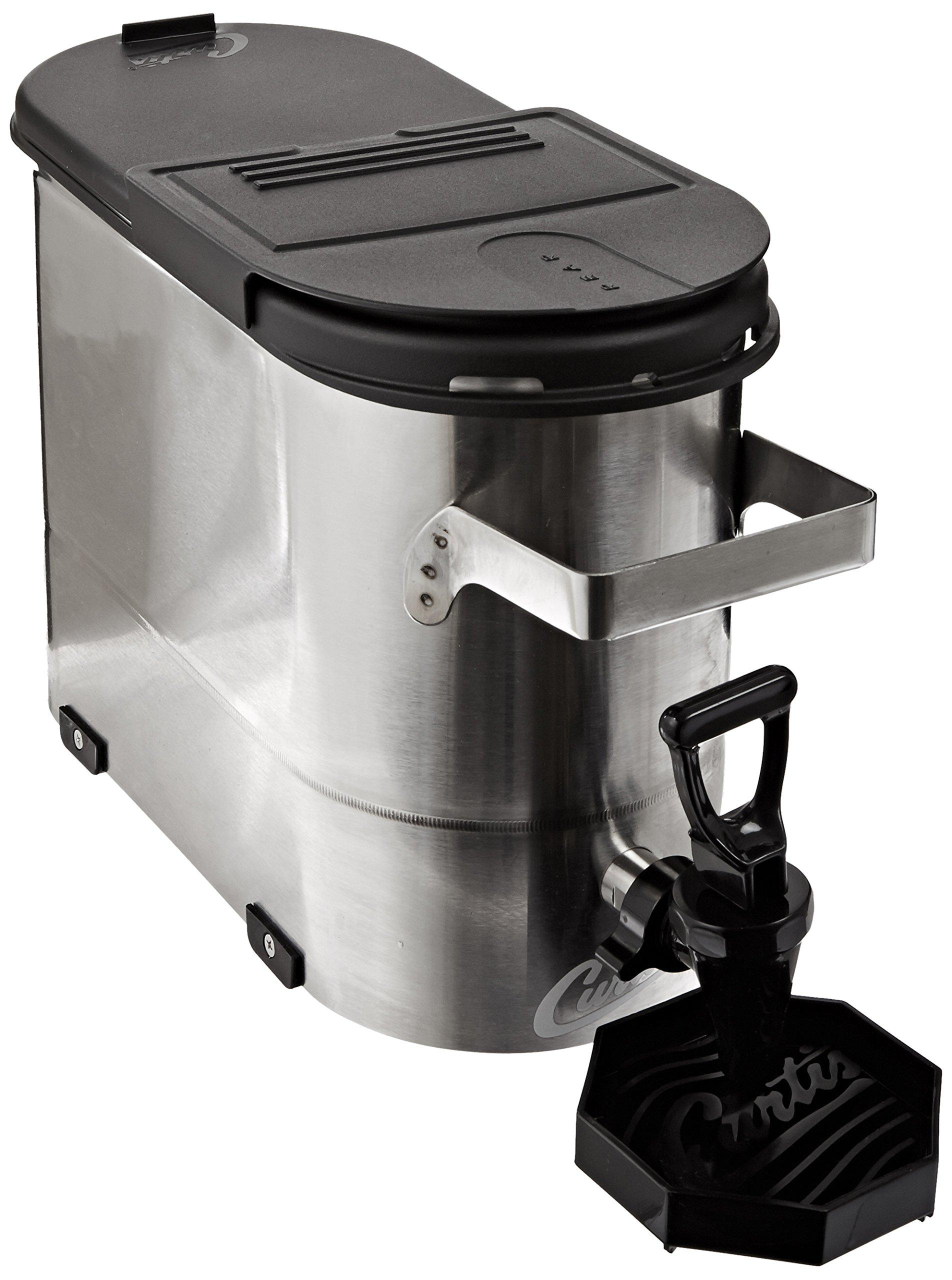 Wilbur Curtis 1.5 Gallon Narrow Tea Dispenser Short - Commercial Iced Tea Dispenser - TCN1510 by Wilbur Curtis