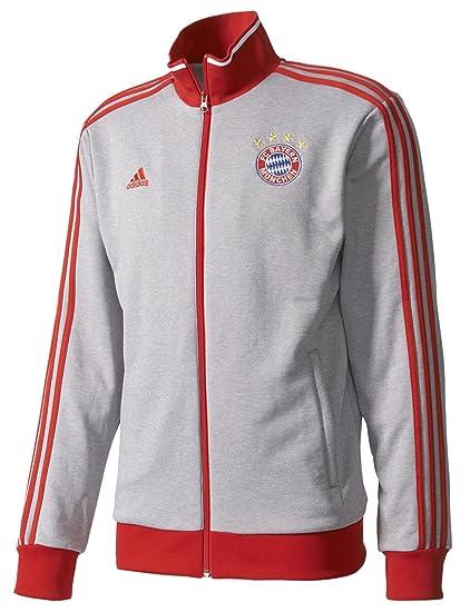 a5fca95489b Amazon.com   adidas Men s Soccer Barcelona 3 Stripe Track Top ...