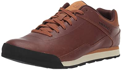 4e6038b099b1dc Merrell Herren Burnt Rocked Leather Sneaker  Amazon.de  Schuhe ...