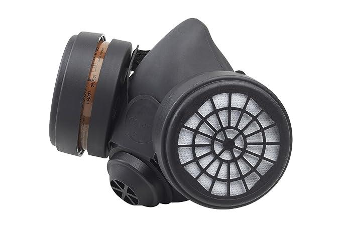 7 opinioni per Meister 4512600- Respiratore mezza maschera con doppio filtro, 2 filtri A1