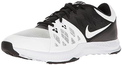 Nike Men's Air Epic Speed TR II Cross Training Shoe, Black/White, 10